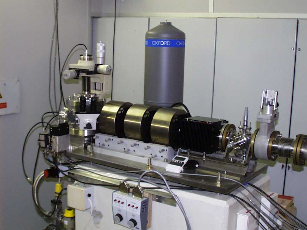 Oxford type microprobe